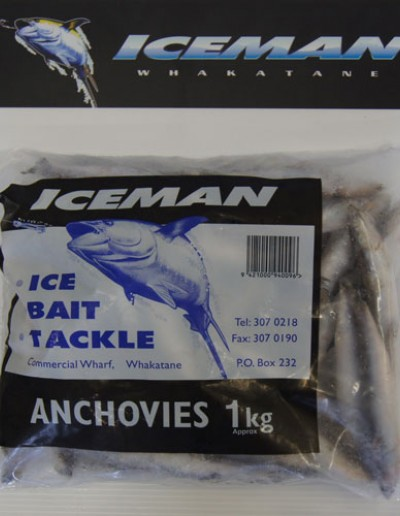 Iceman 1kg Anchovies