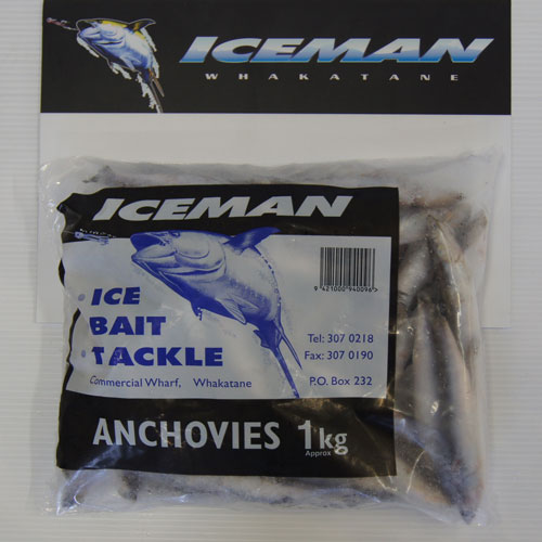 Iceman 1kg Anchovies