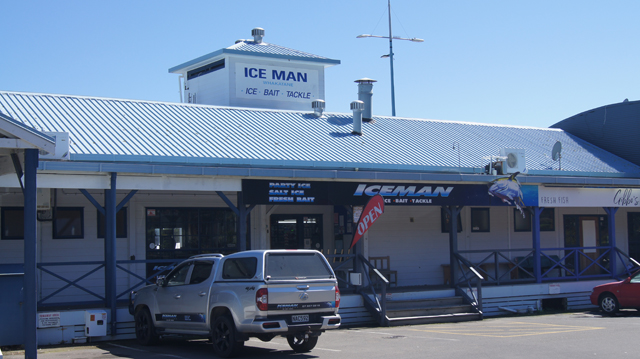 Iceman Whakatane From Muriwai Drive Roadside