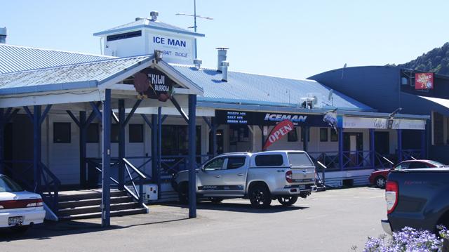 Iceman Whakatane From Muriwai Driveway